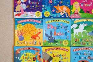 Glittering board books from a top team
