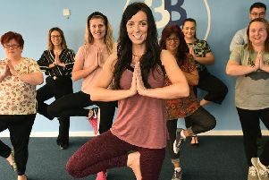 The free yoga sessions designed to help reduce stress