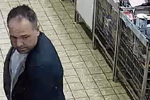 Police are hoping to speak with this man