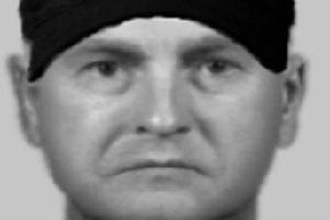 Police have released this e-fit following the assault