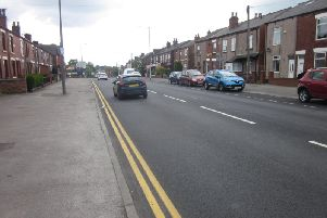 Bolton Road after the repairs