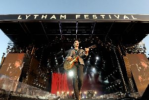 Stereophonics perform at Lytham Festival