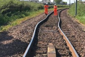 The hot weather can lead to rails 'bending and buckling' from the heat