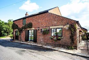 On the market for565,000 with Dewhurst Homes, Old Cuddy Cottage is a stunning converted barn.