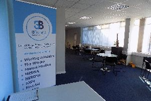 3B's Wigan offices.