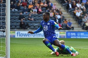 Chey Dunkley puts Latics ahead at Hull