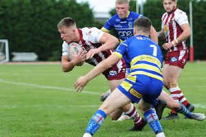 Wigan's Under-19s beat Warrington. Picture: Brian King