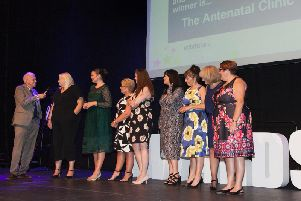 The Quality Improvement Award was won by the Antenatal Clinic