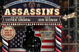 See sensational Stephen Sondheim musical Assassins at Nottingham Playhouse soon