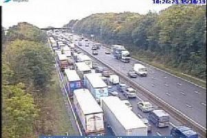 The M1 currently.