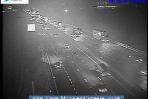 Junction 33 of the M1 northbound.