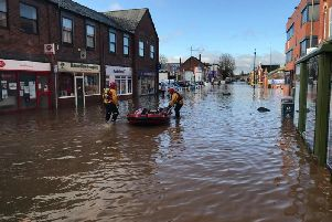 Flooding in Worksop