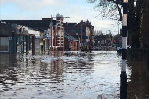 Floodwater has devastated homes and businesses in Worksop over the past week.
