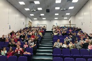 Last years pantomime stream at Doncaster Royal Infirmarys Lecture Theatre.