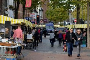 Click the link at the bottom of this story to complete our town centre survey.