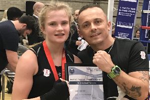 Third national title for Worksop's 'Blonde Bomber'