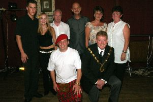 2003: This group shot was taken at a Bassetlaw Hospice charity event at The Innings. Did you go to this? Picture courtesy of Jon Knight.