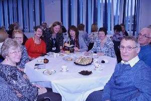 Volunteers at one of the festive brunches hosted by the Doncaster and Bassetlaw Teaching Hospitals Trust.