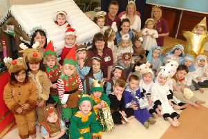 2007: Children from Puddleducks Nursery in Worksop perform their nativity play at play group. Are you on this picture?