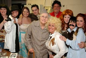 2007: A fabulous nostalgic snap featuring staff and residents taking part in the stars in their eyes talent contest held at St Anne's Church Hall. Did you go to this event?