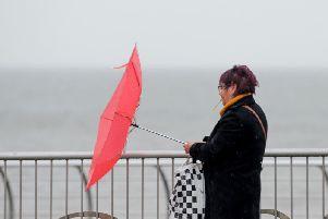 The Met Office has said wind gusts of 50-60 mph are likely inland and 60-70 mph along the coast.