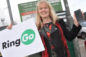 Councillor Jo White says the RingGo parking system will make town centre visits easier starting in April.