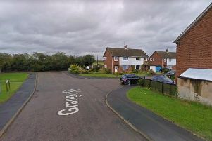 The 'incident' happened in Grange Close. Pic: Google Images.