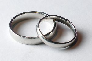 Fewer couples are getting married in religious venues