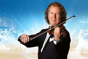 Tickets now on sale to see King of Waltz Andre Rieu at Motorpoint Arena Nottingham