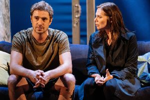 Samantha Womack is 'outstanding' in The Girl On The Train at Nottingham Theatre Royal this week