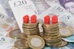 House prices fell in Nottinghamshire last month