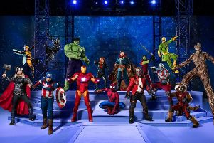 See Marvel Universe Live! at Nottingham and Sheffield venues later this year