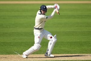 Zak Crawley of Kent - a century against Notts on day one