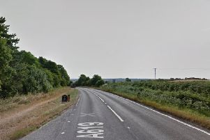 It happened on the A619 near Whitwell. Pic: Google Images.