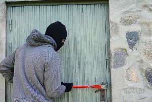 A man has been charged with eight counts of burglary. Stock image.