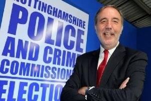 Paddy Tipping, Police and Crime Commissioner for Nottinghamshire