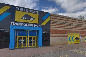 Oxygen Freejumping trampoline park at Cardigan Fields in Leeds. Picture: Google
