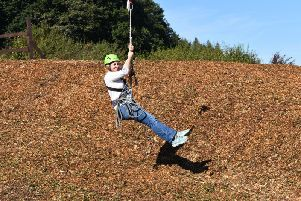 The new zip wire.