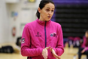 Yorkshire Jets coach Anna Carter.