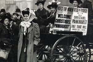 CENTENARY: This week mark's the 100th anniversary of the Representation of the  People Act which gave the vote to women.