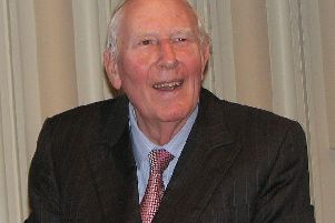 Sir Roger Bannister. Picture: Pruneau