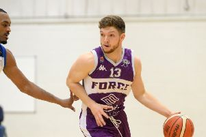 Leeds Force's Isaac Mourier.  Picture: Bruce Rollinson