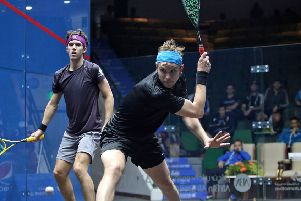 James Willstrop has been in fine form at the 2018 Commonwealth Games. Picture: Squashpics.com