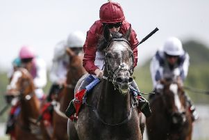 Oisin Murphy and Roaring Lion won York's Dante Stakes last month.
