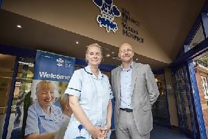 DONATION: G3 has donated �40,000 to the hospice.