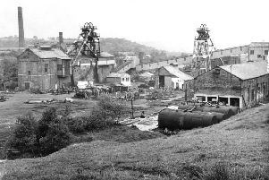 MEMORIES: The Middleton Broom Colliery pictured after its closure in 1968.