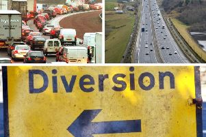 Roadworks over the coming week