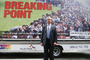 Nigel Farage says controversial anti-migrant poster 'won the referendum' for Brexit