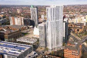 The sale of Hume House for �3.9m has led to work starting on the tallest building in Yorkshire and the North East