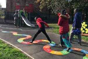 CITY LIVING: New housing and recreation space has transformed an area of Hunslet.